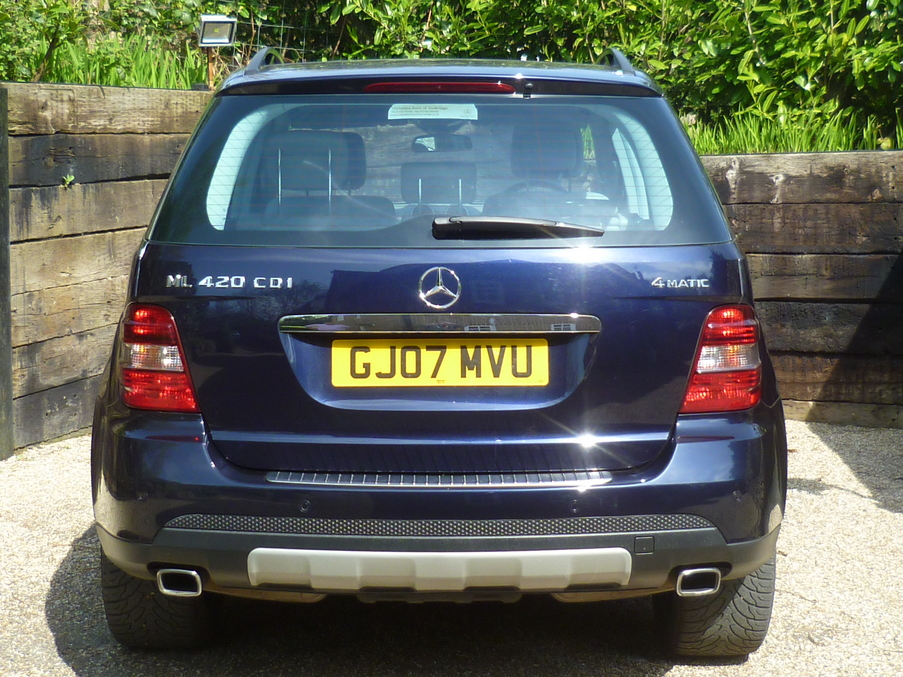 Mercedes benz ml420 sport cdi kent and surrey used cars for Mercedes benz finance calculator